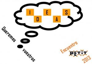 queremos vuestras ideas 2013